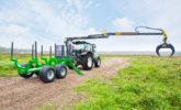 traktorová vývozka