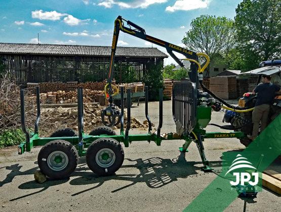 vyvážačka dreva Farma CT 4,6 - 7 S