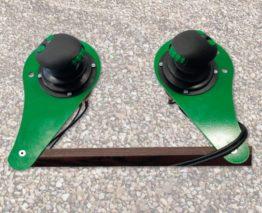 Proporcionálne elektrohydraulické ovládanie joysticky