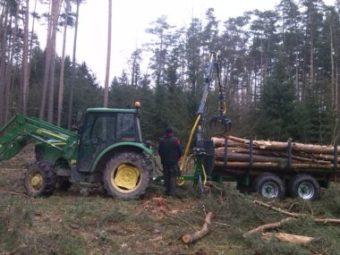 Traktorová vyvážačka Farma CT 4,2-6