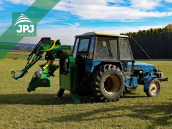 Nesený traktorový procesor Farma-N + traktor Zetor 5611