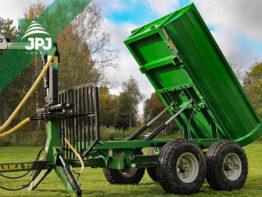 hydraulicky sklopná korba Farma